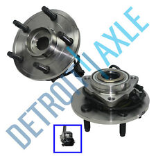 (2) Front Wheel Bearing Hub for 2002 2003 2004 2005 Dodge Ram 1500 5-Lug ABS