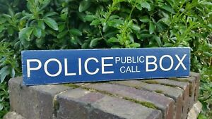 DR WHO POLICE PUBLIC CALL BOX TARDIS Door Sign NEW