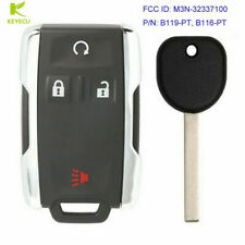 Replacement Keyless Key Fob Remote For Chevrolet GMC Sierra M3N-32337100 B116-PT