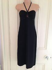 Oasis Black Dress Size 10