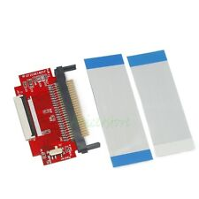 """CF To 1.8"""" 40 Pin CE ZIF SSD HDD Adapter Converter w/2 CE Cables"""