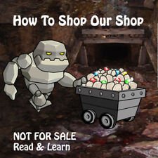 How To Shop Our Shop - Not For Sale Read Only - Rock Mineral Healing Kidz Rocks