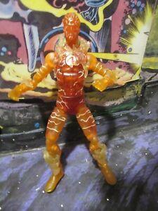 Marvel Legends Ares BAF HUMAN TORCH loose action figure Fantastic Four