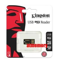 Kingston FCR-MRG2 USB Micro SD Card Reader Writer Fit Micro SD SDHC SDXC