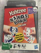 Brand New, YAHTZEE HANDS DOWN CARD GAME BY HASBRO YAHTZEE
