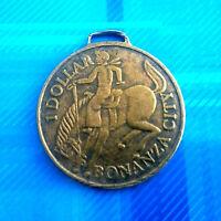 #1266# Médaille Jeton 1 dollar: Bonanza city, Hansaland