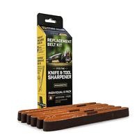 Work Sharp Belts for Knife Sharpener P220 Medium Grit 6 Pack WSSA0002704 -Dealer