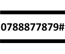 88877879 THREE SIM CARD GOLD EASY PLATINUM VIP MOBILE PHONE NUMBER 0788877879#