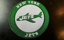 """New York Jets vintage embroidered iron  on logo patch  3x3"""" NFL FOOTBALL PATCH"""
