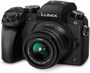 Panasonic LUMIX G7 4K Digital Camera, with LUMIX G VARIO 14-42mm Mega O.I.S. Len