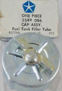 1972 Dodge Plymouth Chrysler NOS MOPAR Gas Fuel Cap