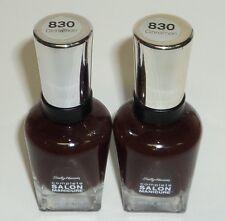 2 Sally Hansen Complete Salon Nail Polish Nail Color CINNAMON 830