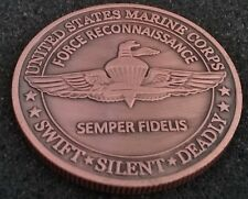 USMC United States Marine Corps Special Force Recon MAGTF SOC Challenge Coin
