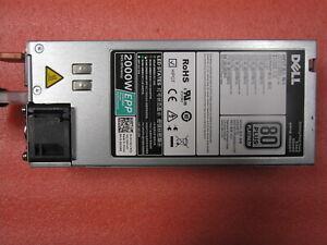 DELL Switching Power Edge 2000W 80+ PLATINUM PSU D2000E-S2 DPS-2000EB XYK93