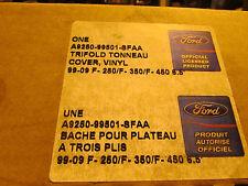 Ford A9250-99501-SFAA Soft Folding Tonneau Cover 6.5' Bed
