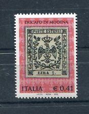 Italia 2002 Celebrazione primi francobolli del Ducato di Modena Mnh