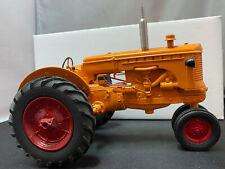 Mohr Custom Minneapolis Moline 1/16 Scale UT100 Resin 80's Stamped Farm Tractor