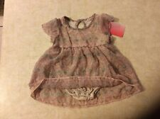 Ella Moss Outfit w/Ruffles and  SnapBottom Sz 18-24 Mth NWT