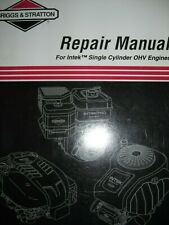 Briggs & Stratton Repair Manual For Intek Single Cylinder OHV Engines
