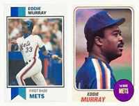 (2) Eddie Murray Odd-Ball Trading Card Lot