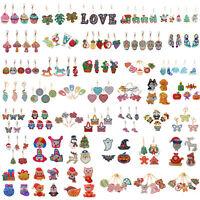 Christmas Xmas 5D DIY Diamond Painting Key Chains Keyrings Keychain Decor Gift