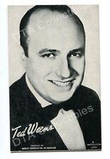 TED WEEMS-MUTOSCOPE ARCADE CARD-1940 G