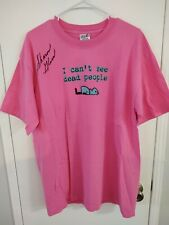 Queer As Folk Debbie Novotny Tee Shirt signed by Sharon Gless