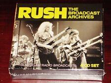 Rush: The Broadcast Archives - Classic FM Radio Broadcasts 4 CD Box Set 2018 NEW