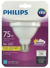 Philips 75W Equivalent LED PAR30S Bright White Flood Light Bulb