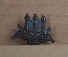 WW1 Kings Own Scottish Borderers Bronze Collar Badge   genuine