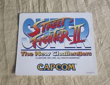 1993 CAPCOM SUPER STREET FIGHTER II STICKER