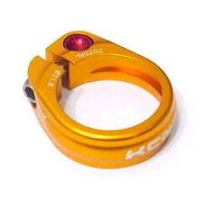 gobike88 KCNC SC-9 Seatpost Clamp, Ti Bolt, 31.8mm, 14g, Gold, E38