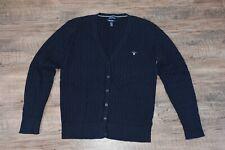 GANT Ladies Cable Knit Stretch Cotton Cardigan Size 3XL