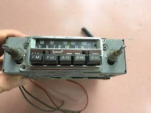 AUDIOVOX Vintage 1960's AM/FM radio, Positive /Negattive Earth not Working