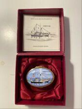 Staffordshire English Enamel Box Special Edition Paddleboat Hohentwiel