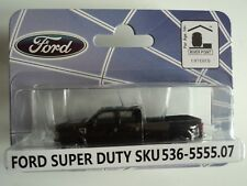 RIVER POINT  2008  FORD F-350 XLT SPORT CREW CAB  DRW  BLACK  1/87 HO PLASTIC