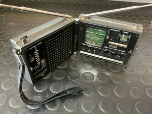 Rare Vintage PSB AM FM Radio SONY ICF-7800W Newscaster - Working fine