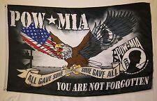 Pow - Mia You Are Not Forgotten Flag 3' x 5' Indoor Outdoor War Banner