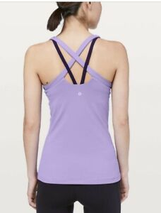 Lululemon Rally Your Heart Tank Violet Purple Size 4