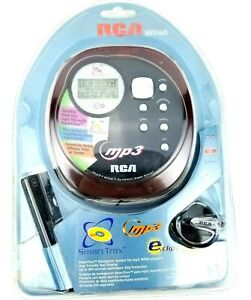 RCA RP2485 Portable CD/MP3 Player with Car Kit (Red and Black) - SEALED