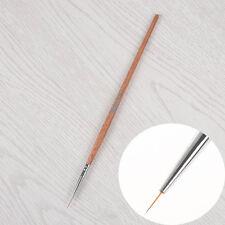 Long Hair Nail Art Liner Brush Ultra-thin Line Drawing Pen Wooden Handle Brush