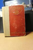 Vintage hardcover book, The Scarlet Letter by Nathaniel Hawthorne, 1892.  Publis