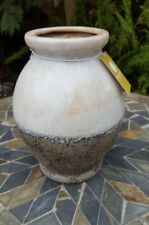 New Latte Rustic Vase, Florabelle Ceramic Vase 20cm High -  Mothers Day Gift