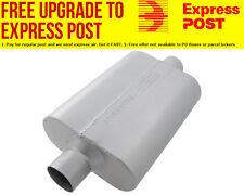 "Flowmaster 40 Series Delta Flow Muffler 2.5"" Center Inlet / Center Outlet"