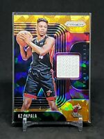 2019-20 Prizm KZ Okpala RC, Rookie Orange Ice Sensational Swatches Relic, Heat