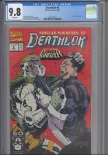 Deathlok #6 CGC 9.8 1991 Marvel Comics Keith Williams Cover Punisher App