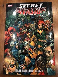 Marvel Comics Secret Invasion Deluxe Hardcover (2010) First Print Excellent Copy