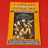 RARE Lunar The Silver Star The Official Strategy Guide 1994 Sega CD