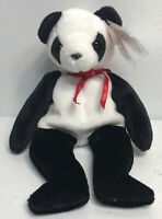 RETIRED Ty Beanie Baby FORTUNE Bear. ERRORS With Tags *RARE*