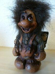 Fosse Troll ca.17cm*Etikett Art.Nr.31*Handmade in Norway*Zwerg*Gnom